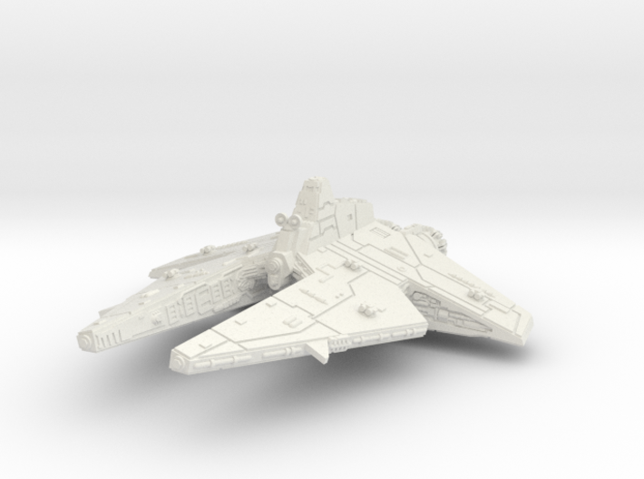 (Armada) Customs Corvette 3d printed