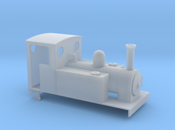 TTn3 Freelance 0-6-0T 3d printed