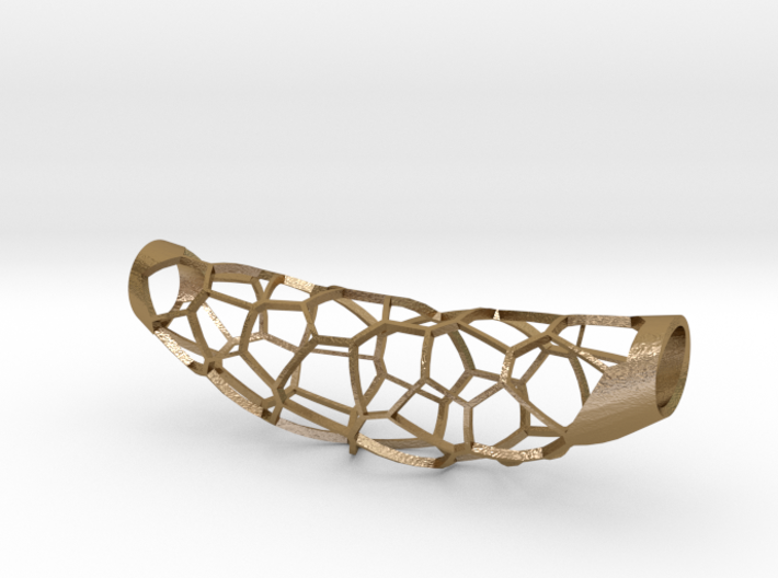 Voronoi 5 large pendant (50%infill) 3d printed