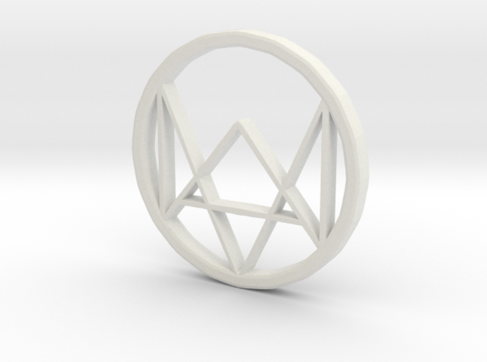 Watchdogs Logo 3d printed