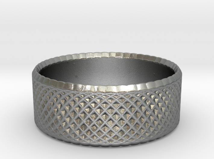 0195 Lissajous Figure Ring (Size0.5, 12.0mm) #006 3d printed