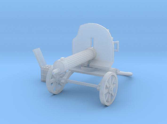 1/24 Maxim 1910 machine gun 3d printed