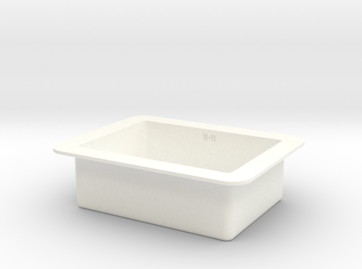 1:12 Sink under counter (kitchen) 3d printed