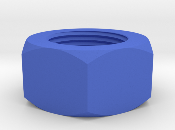 Nut Job 14mmx1 Positive Airsoft Muzzle Tip 3d printed