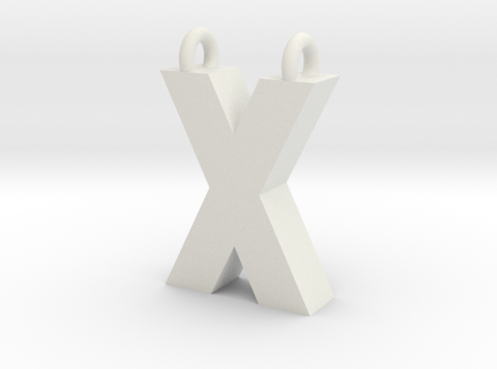 Alphabet (X) 3d printed Collection: Alphabet