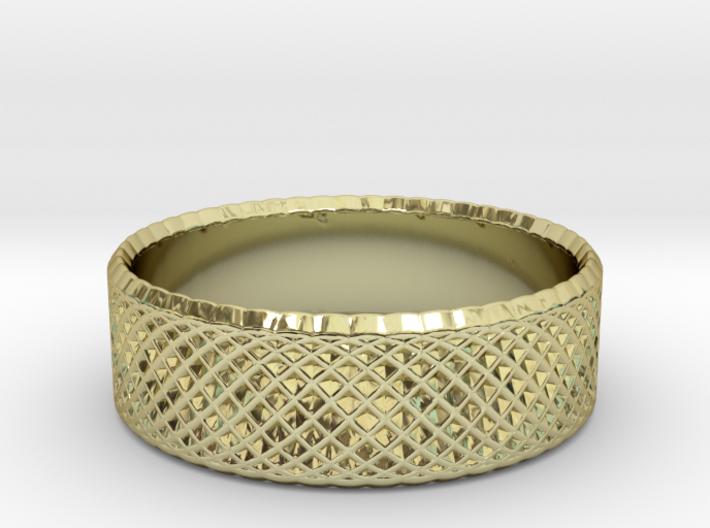0204 Lissajous Figure Ring (Size3, 14.0mm) #011 3d printed