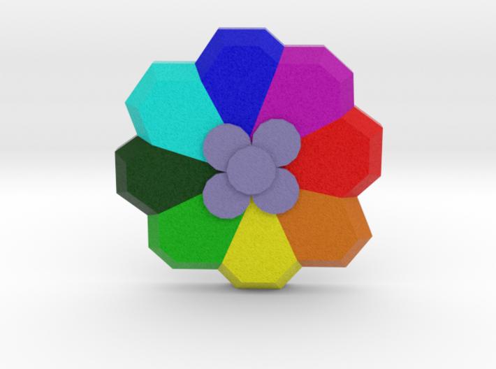 Rainbow Badge - Pokemon Badges Kanto 3d printed