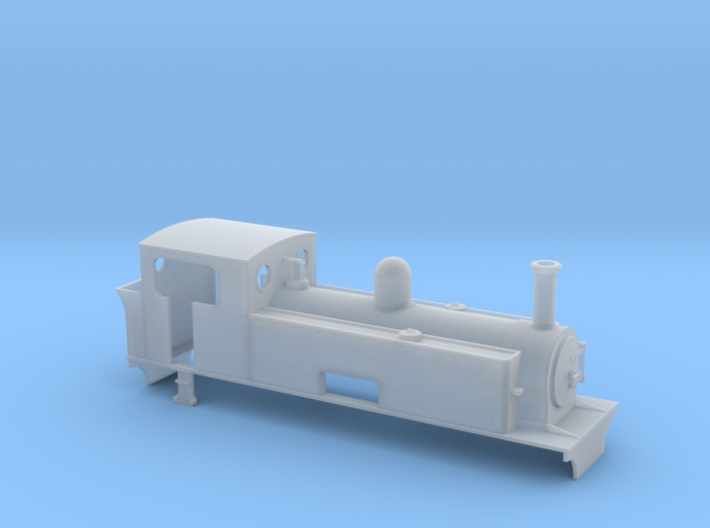 TTn3 West Clare T Green 2-6-2T 3d printed