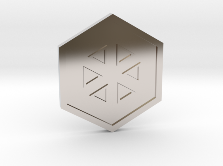 Glacier Badge - Johto Pokemon Bagdes 3d printed