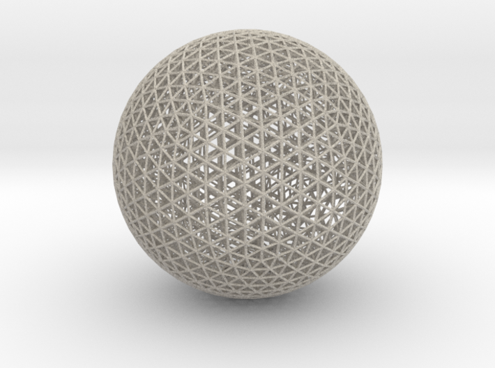 Space Frame Sphere Small 3d printed