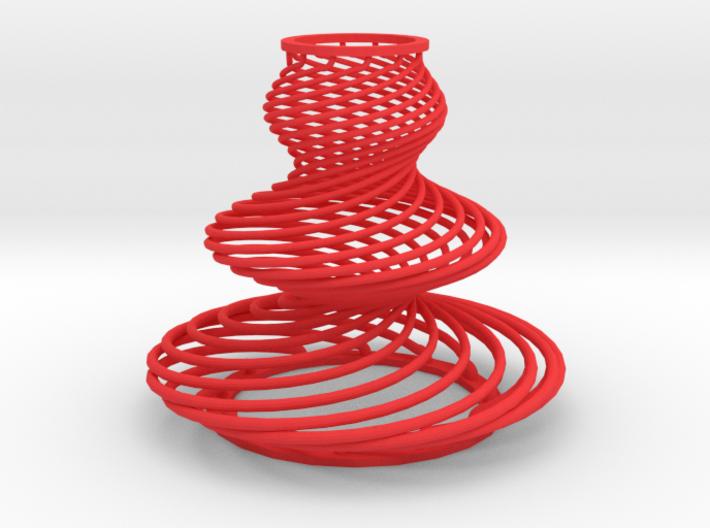 Waved Serpentines 3d printed