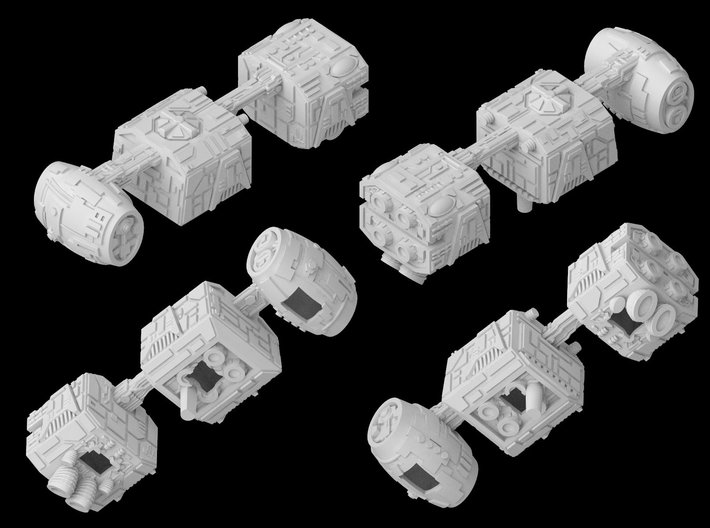 (Armada) Mobquet Medium Transport 3d printed