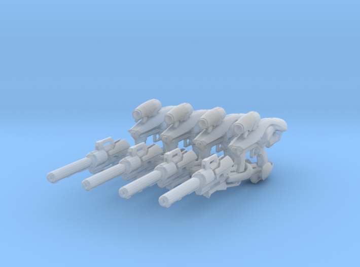 Vex Mythoclast (1:18 Scale) 4 Pack 3d printed