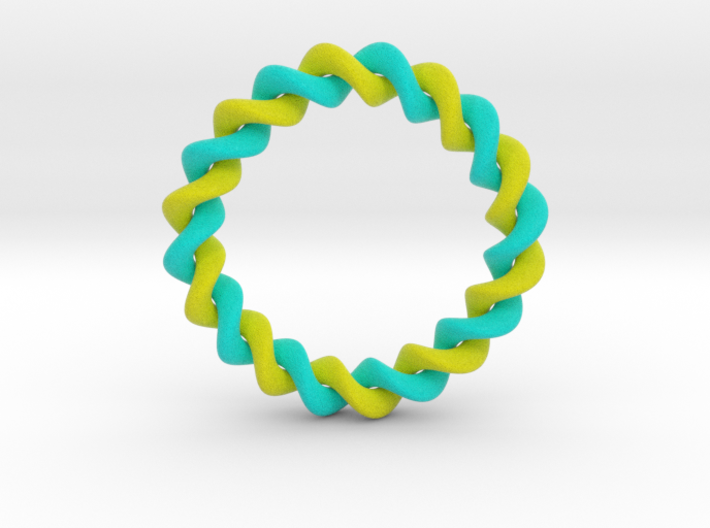 0206 Collection of Knots [2,10] (5cm) #001 3d printed