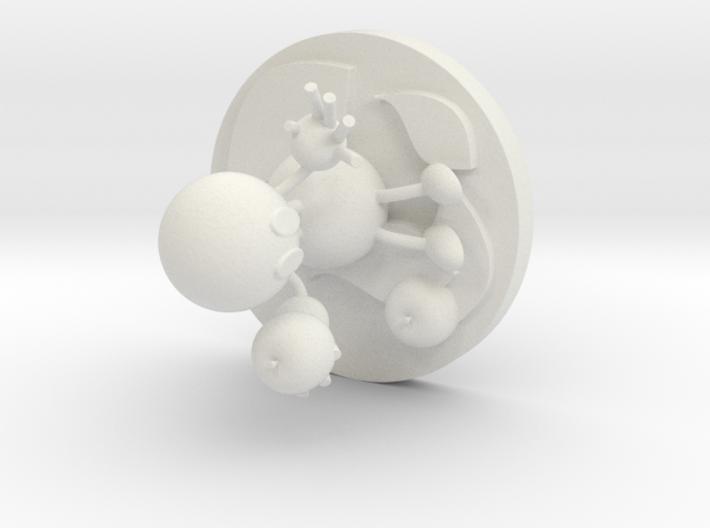 Ethylene 3d printed