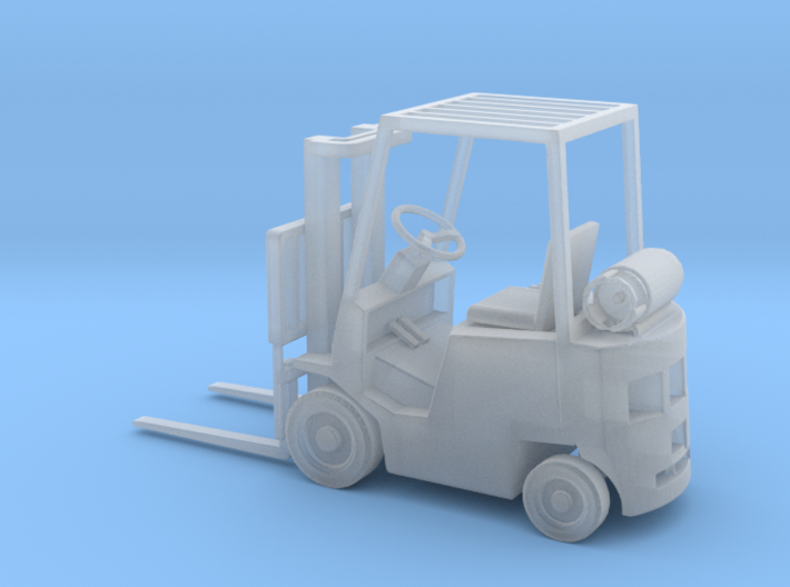 HO Scale 1:87 Yale Forklift 3d printed
