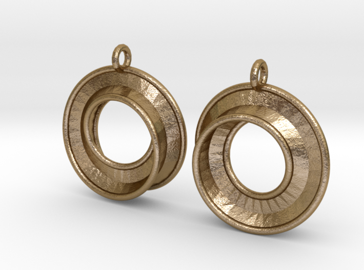 Fantasy-3-Earrings 3d printed