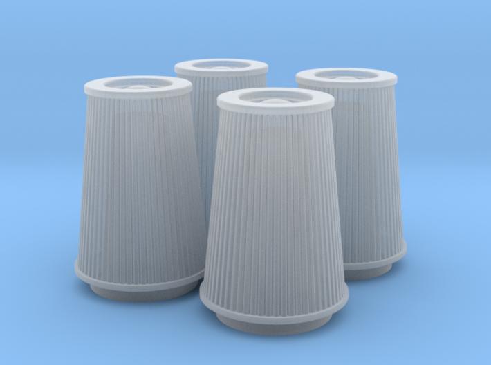 1/16 K&N Cone Style Air Filters TDR 4970 3d printed