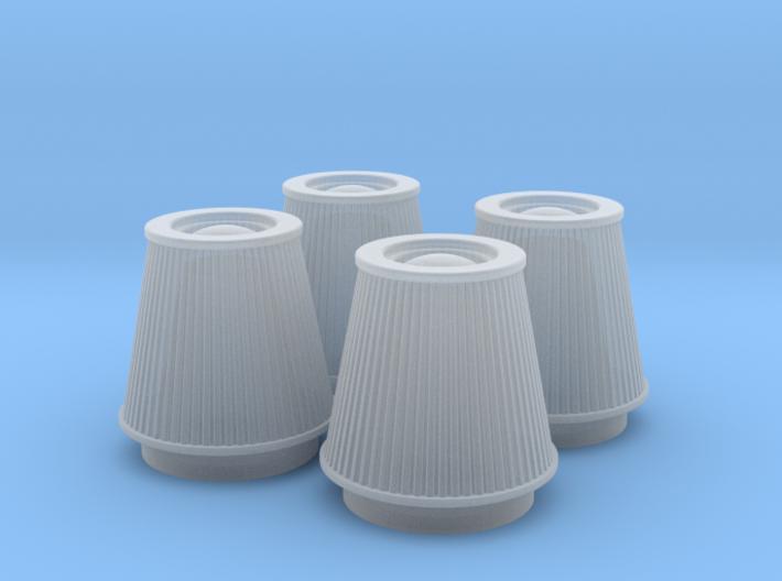 1/18 K&N Cone Style Air Filters TDR 5113 3d printed