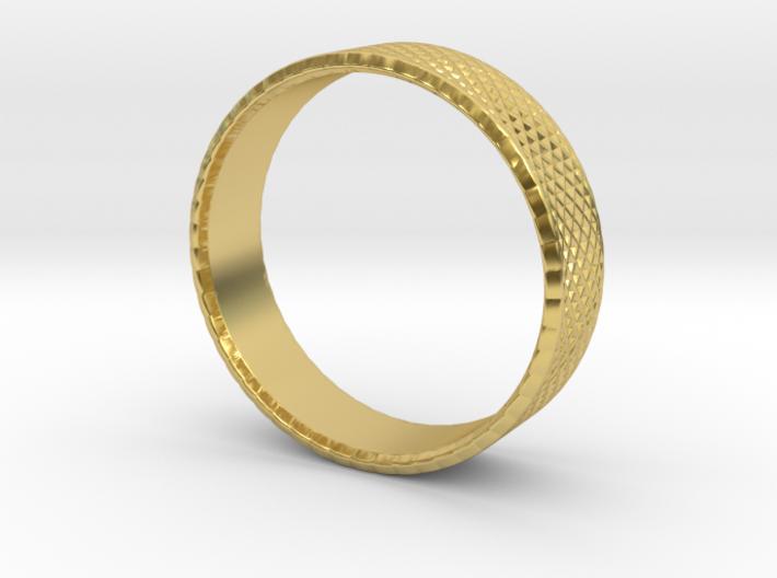 0211 Lissajous Figure Ring (Size5.5, 16.1mm) #016 3d printed