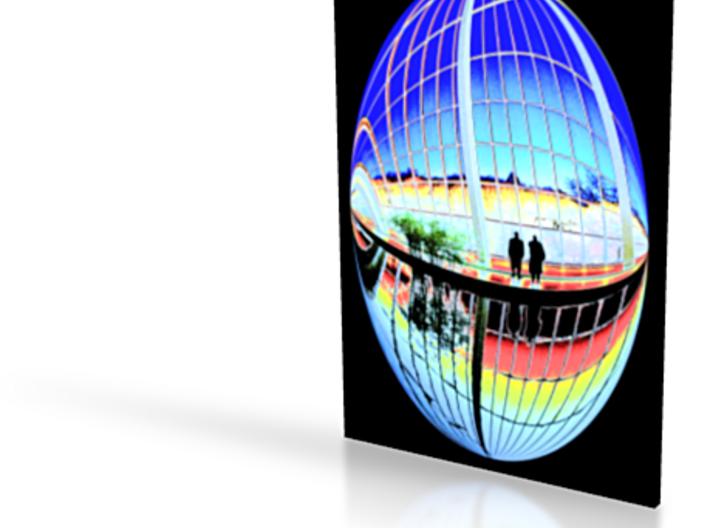 Dendur View - flat - 4in 3d printed