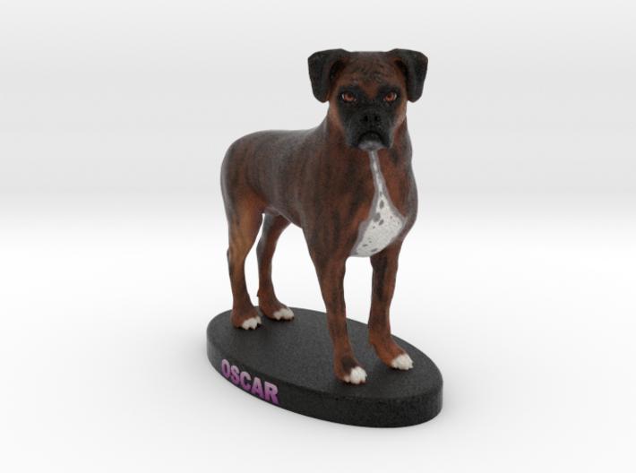 Custom Dog Figurine - Oscar 3d printed