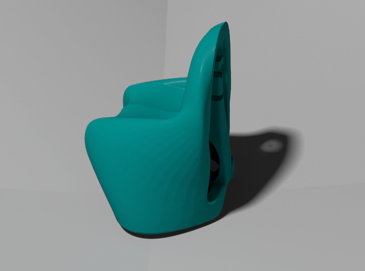 """Pantonish Chair"" Miniature 3d printed"