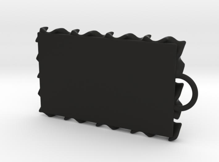 Gyroid Keychain 3d printed