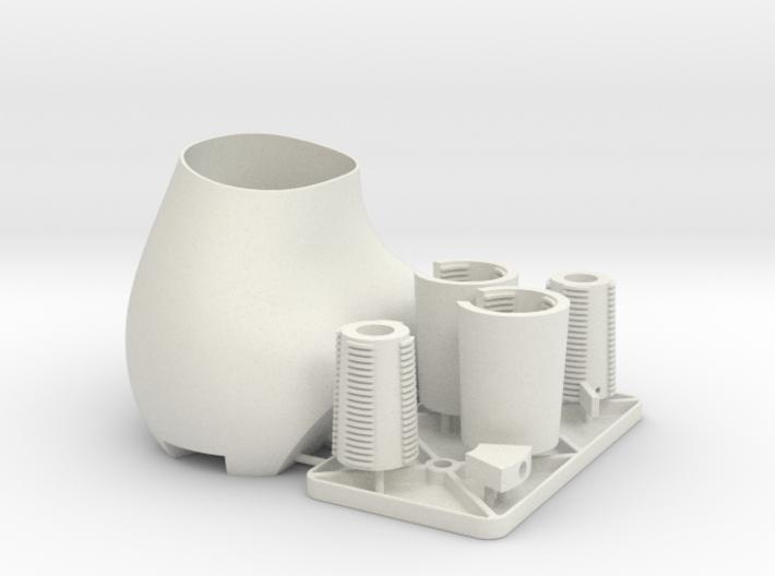 Barrel lock Assembly1 3d printed
