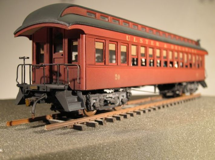 Wood Passenger Truck S Scale 1/64 3d printed