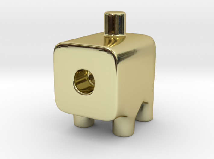 Tiny Cannon Ugly Friend 3d printed