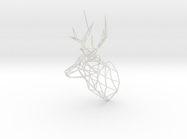 3D Printed Stag Deer 150mm Facing Right  3d printed