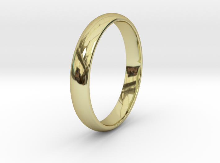 Ring Size 9 smooth 3d printed