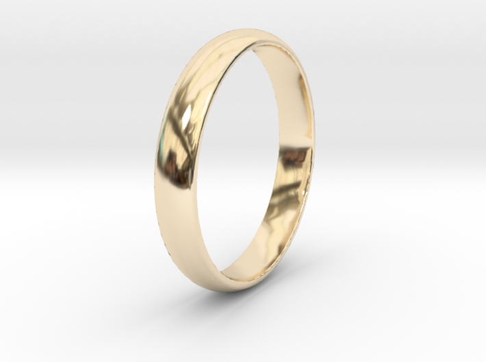 Ring Size 12 1I2 smooth 3d printed