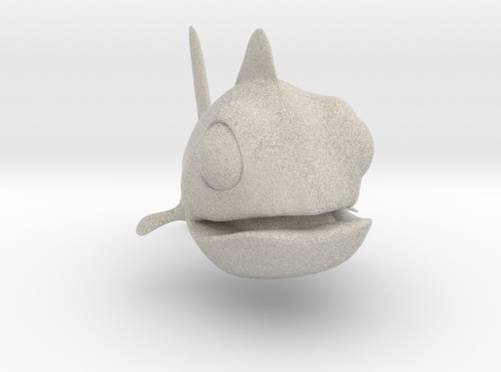 Little Gold Fish 3d printed