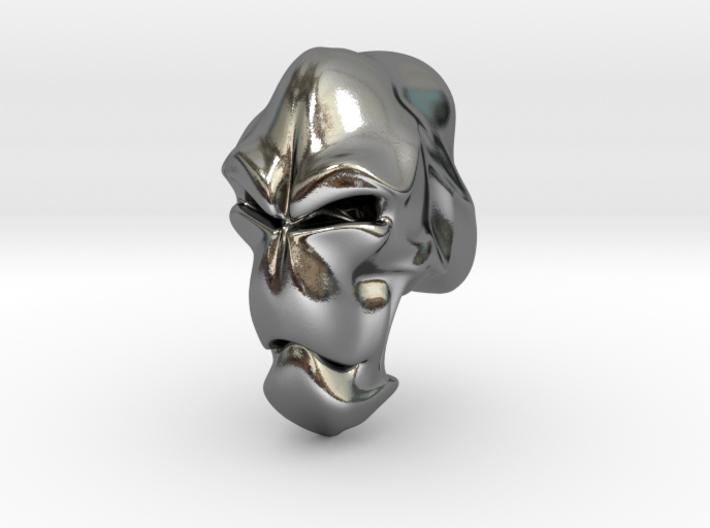 Skull-004 scale in 3cm Passed 3d printed