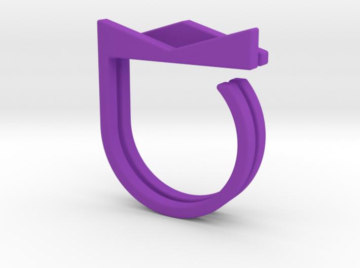 Adjustable ring. Basic set 2. 3d printed