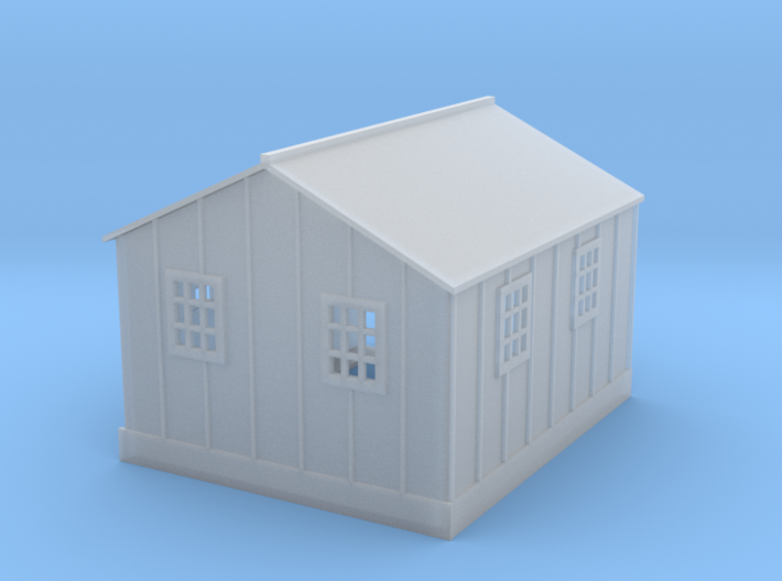 Clay Spur Lab Office Building 5 Z Scale 3d printed Lab Office building z scale