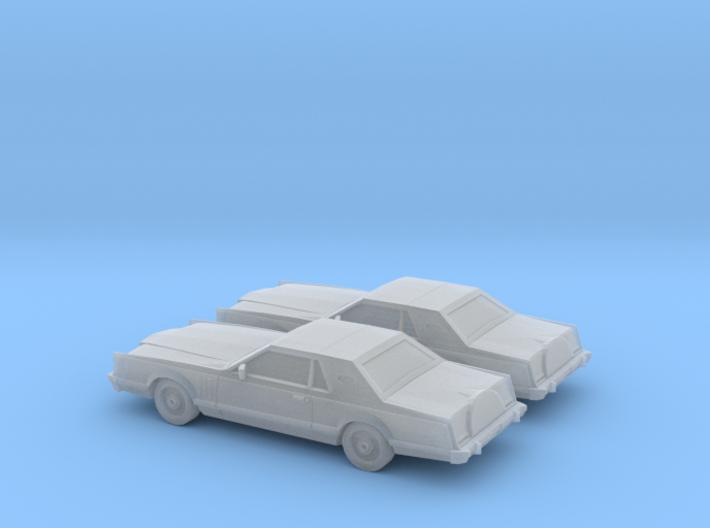 1/160 2X 1979 Lincoln Mark V 3d printed