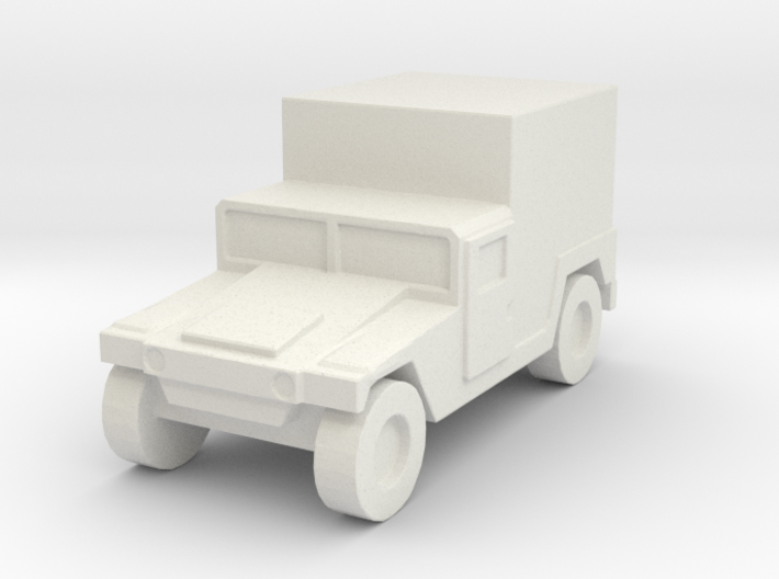 1/220 US Army M1037 Shelter Humvee HMMWV 3d printed