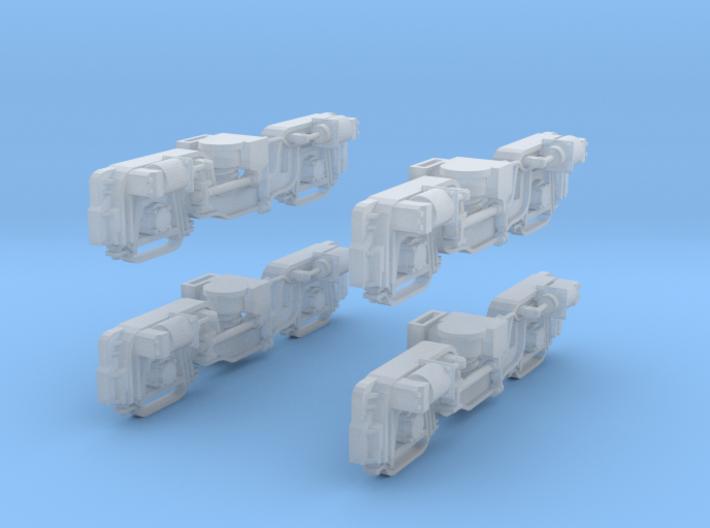 Kagoshima Trucks O scale 1:45 3d printed