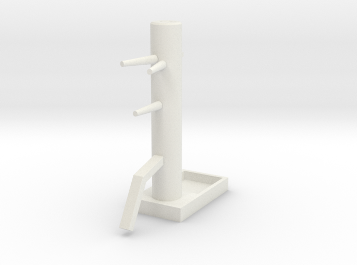 Wooden Dummy04-print 3d printed