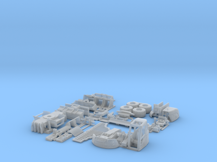 Lenni-14tWheeledExcavatorSet 3d printed