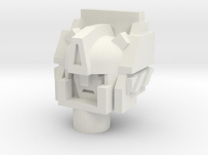 Legendary Architect Head 3d printed