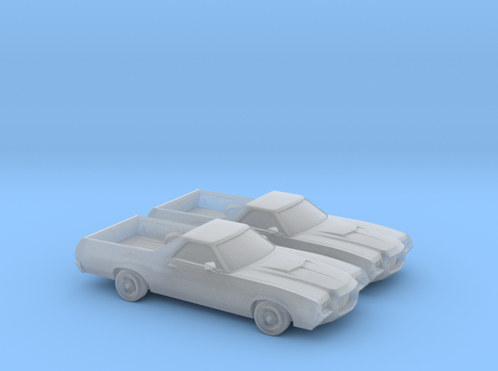 1/160 2X 1972 Ford Ranchero 3d printed