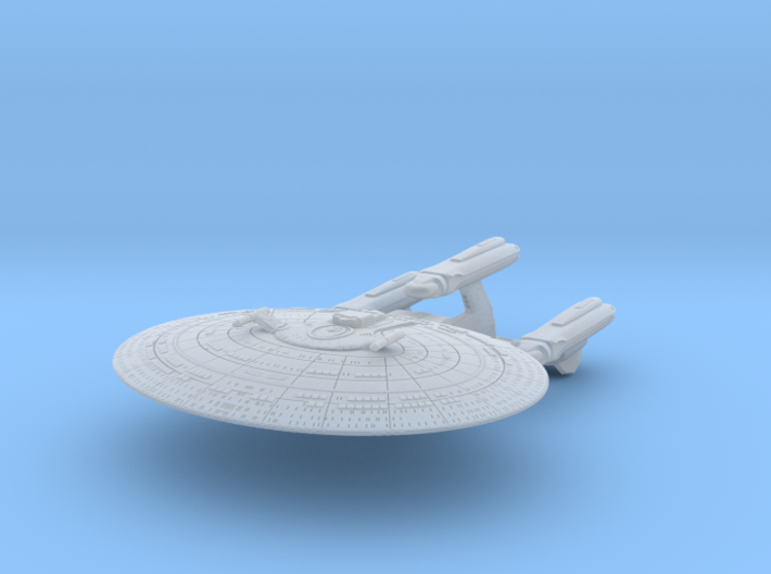 SF Dreadnought Cruiser 1:7000 3d printed
