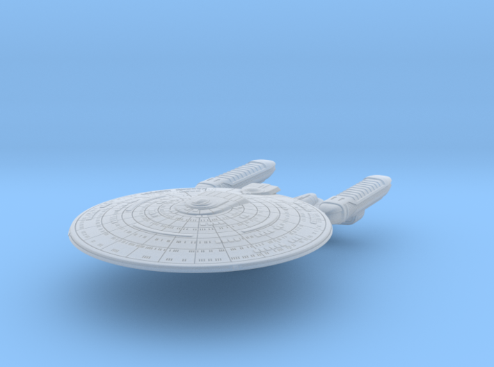 SF Diplomatic Cruiser Mk2 1:7000 3d printed