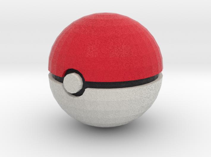 Pokeball Solid 3d printed