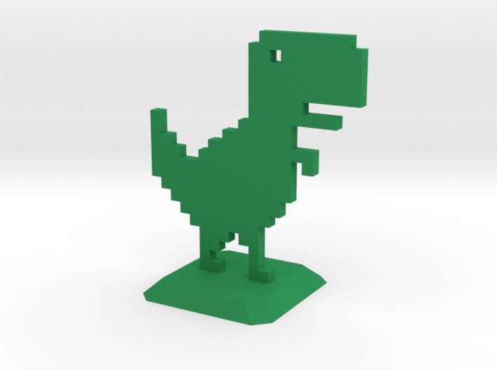 No Internet Dinosaur 3d printed
