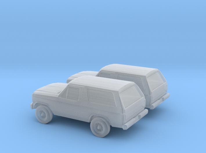 1/160 2X 1984 Ford Bronco 3d printed